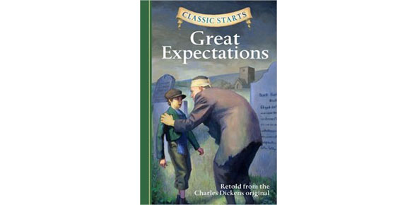 What is the significance of the title Great Expectations?