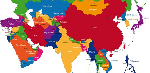 Central Asia Capitals Flashcards By Proprofs: Map Of Asia Capitals At Infoasik.co