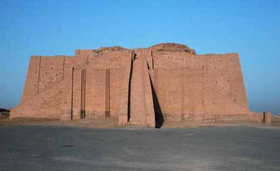 ziggurats functioned symbolically as