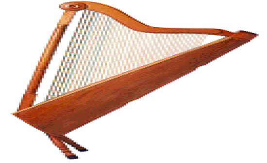 Flashcards Table on Music Instruments