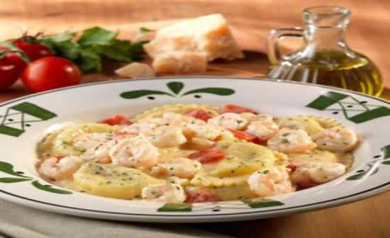 Olive garden menu flashcards by proprofs for Mezzaluna ravioli olive garden