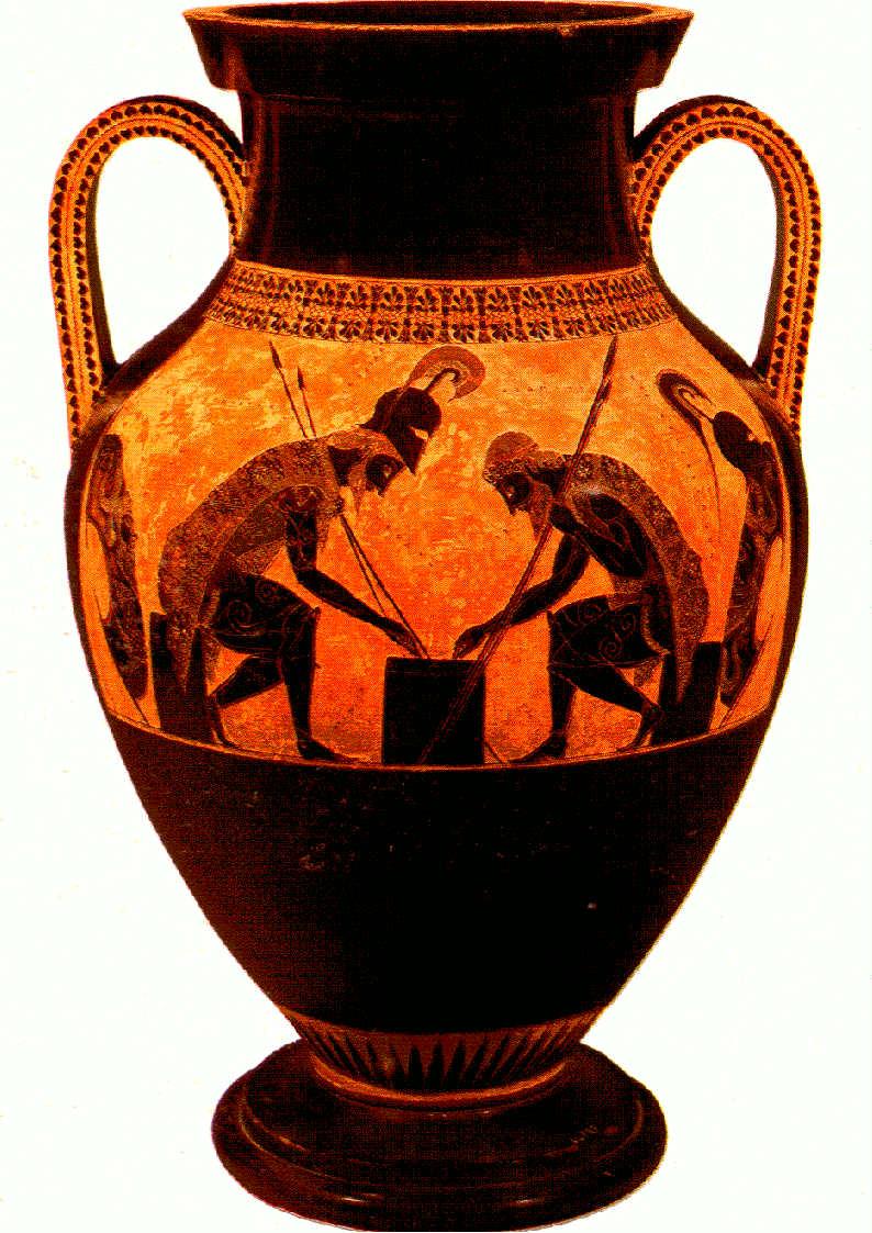 Ancient greek art pottery