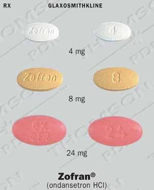 Zofran Medication Card
