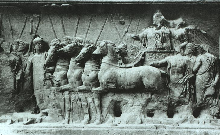 the arch of titus propaganda Get an answer for 'how did roman rulers use art as propaganda' and find homework help for other history questions at enotes an example is the arch the romans.