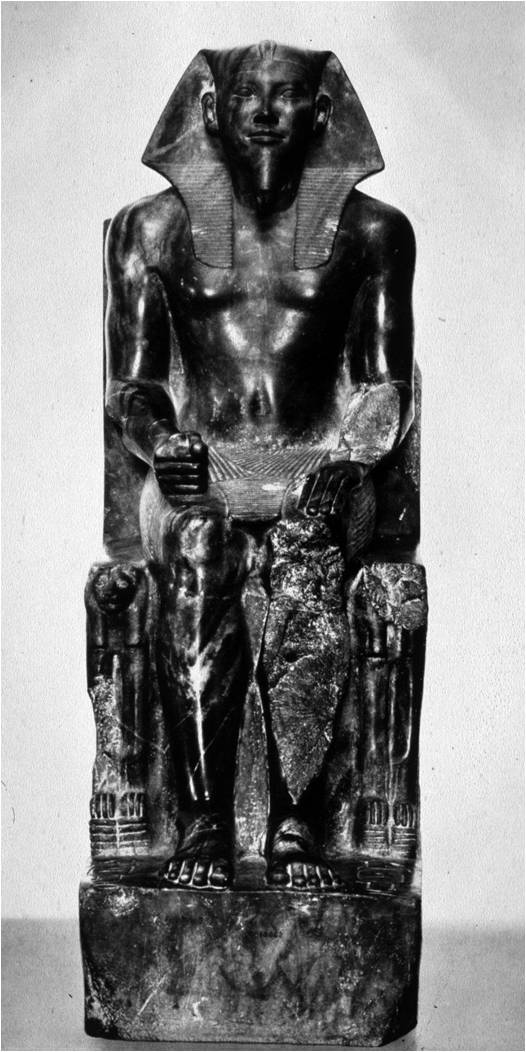 the origin of egyptian art and the statue of king khafre seated Find the perfect ancient egyptian sculpture stock (state museum of egyptian art) head of a statue of king amasis ancient egyptian pharaoh (reign: 570-526 bc.
