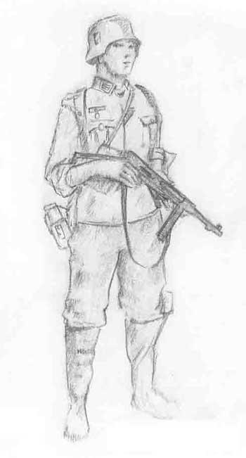 Картинки советских солдат 1941-1945 для срисовки, картинки