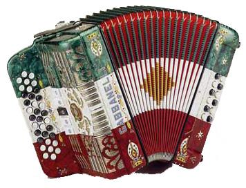 Mexican accordion
